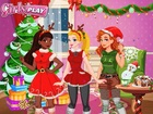 Girls Play Christmas Party